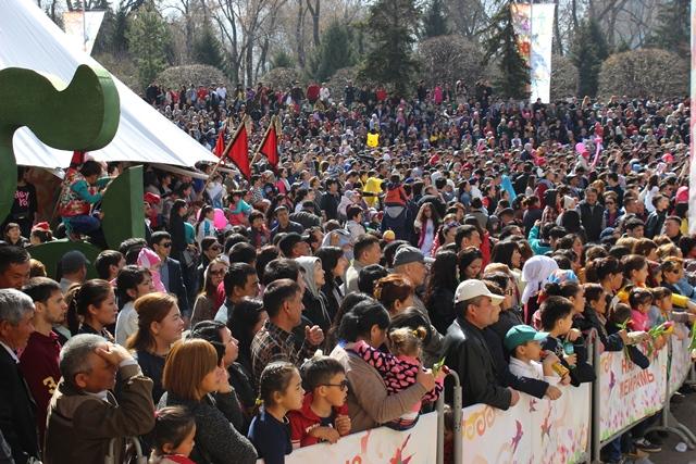 Almatı'dan nevruz görüntüleri
