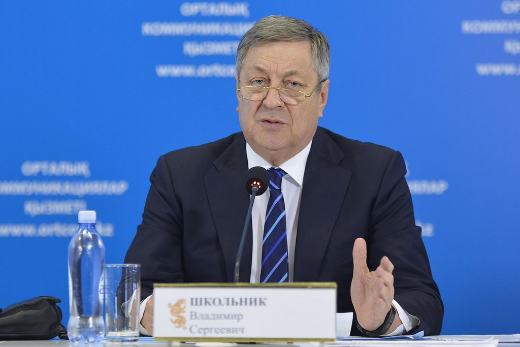 Enerji eski bakanı Vladimir Şkolnik