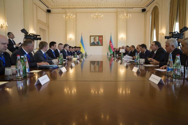 azeri ukrayna heyetler