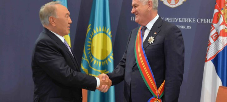 nazarbayev belgrad dostuk madalyası