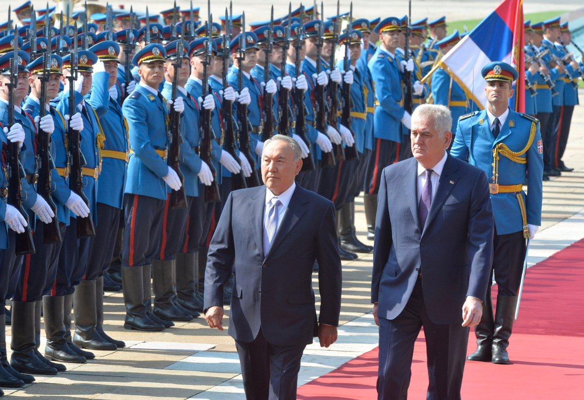 nazarbayev srbıa
