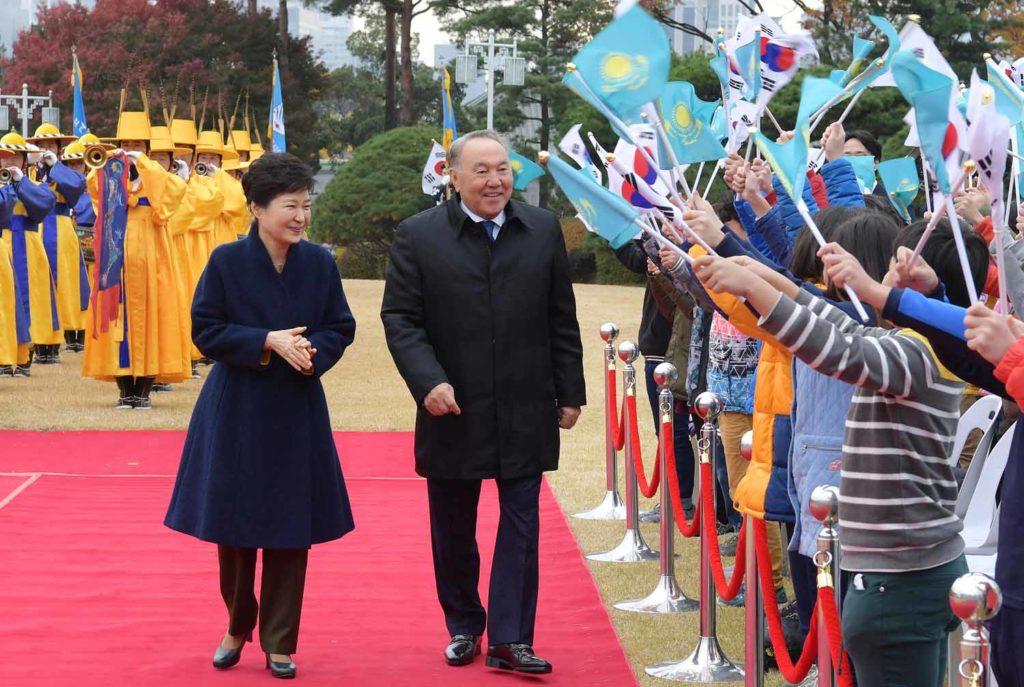 nazarbayev-karsilama-kore