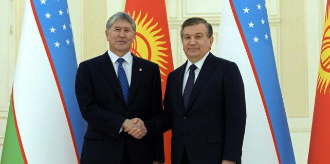 şevket mirziyoyev ve kırgızistan'ı ziyaret etti ile ilgili görsel sonucu